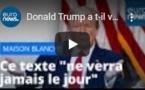 Donald Trump a t-il voulu étouffer un rapport préconisant des mesures strictes de déconfinement ?…