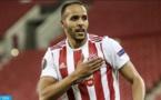 El Arabi, champion de Grèce avec l'Olympiacos