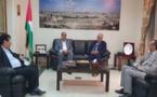 Visite de soutien et de solidarité du Premier secrétaire à l'Ambassadeur de Palestine à Rabat