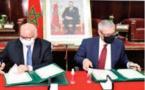 Signature d' une convention de partenariat entre le ministère de la Justice et la CNDP