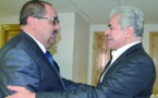 Driss Lachgar s'entretient avec Hameddine Sabahi