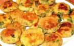 Recette : Galette aux pommes  de terre et épinards