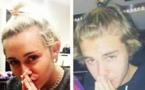 Miley Cyrus se paie la tête de Justin Bieber