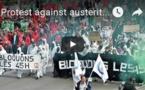 Manifestation contre l'austérité en Belgique
