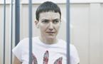 "Nadia Savtchenko, symbole de l'Ukraine dressée face à l'""ennemi"" russe"