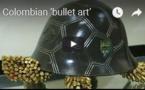 """Exposition """"Art de la balle"""" en Colombie"""