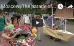 Moscou: Le défilé des poussettes