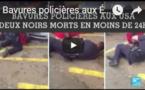 Bavures policières aux États-Unis - Deux hommes noirs tués en 2 jours