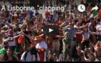 """A Lisbonne, """"clapping"""" des fans avant la finale de l'Euro-2016"""
