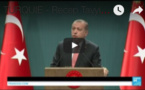 Erdogan annonce un état d'urgence de trois mois en Turquie