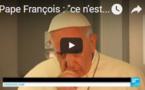 """Pape François : """"ce n'est pas juste et ce n'est pas vrai d'associer l'islam à la violence"""""""