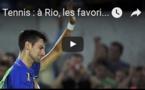 Tennis : à Rio, les favoris sortent dès le premier tour