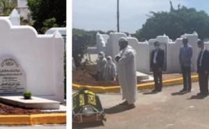 La cérémonie funéraire a eu lieu au cimetière Chouhada dans le respect des mesures dictées par l'  urgence sanitaire