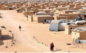 Violents affrontements entre manifestants  et miliciens du Polisario devant le bagne d'Errachid