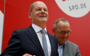Elections législatives allemandes: Supériorité des sociaux démocrates
