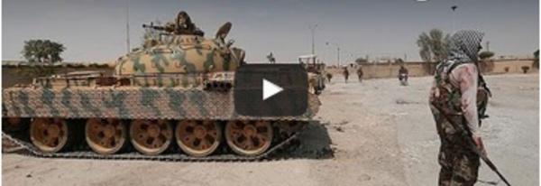 Veillée d'armes à la frontière turco-syrienne contre Daesh
