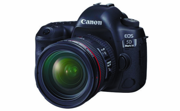 Le Canon EOS 5D Mark IV fait le plein de nouveautés