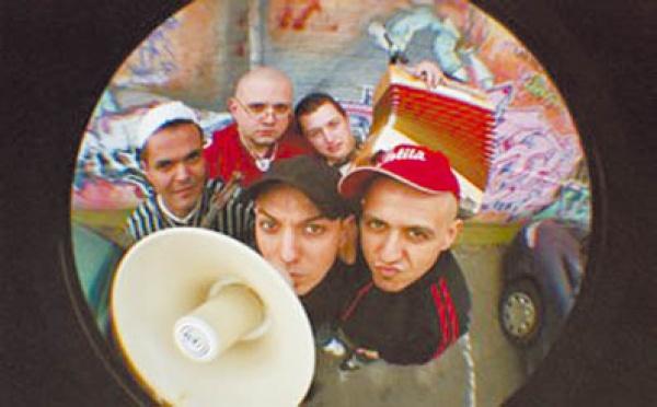 Portrait d'un groupe de rap