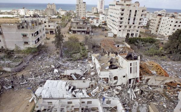 Pogrom sioniste à Gaza