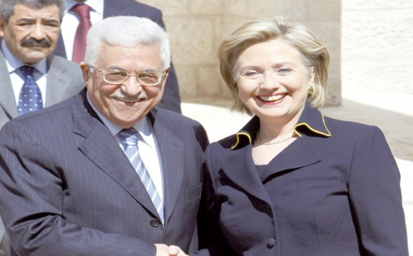Pour appuyer la création d'un Etat palestinien : Hillary Clinton à Ramallah