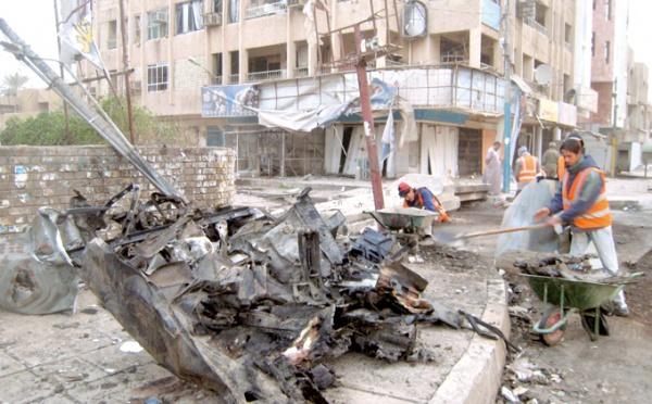 L'attaque a fait 10 morts et 56 blessés : Attentat à la camionnette piégée à Bagdad