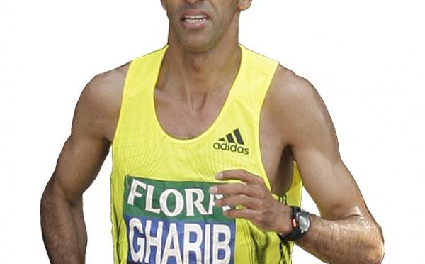 Gharib troisième à Londres