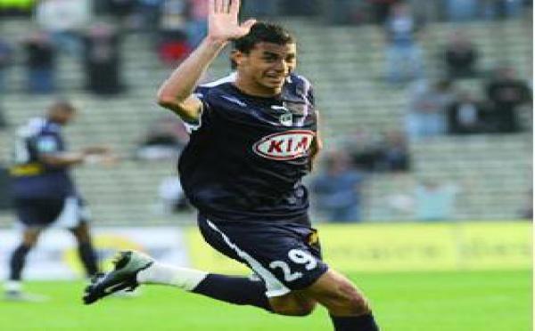 Chamakh, meilleur joueur africain du championnat français : Le co-buteur des Girondins récompensé