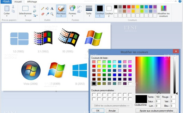 """L'application """"Paint"""" de  Microsoft bientôt abondonnée"""
