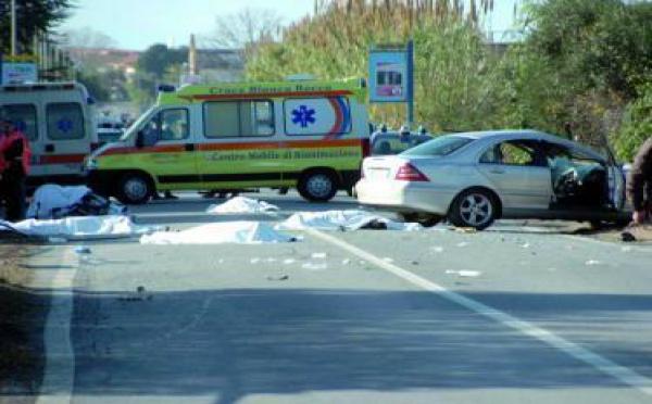 Sept cyclistes italiens heurtés mortellement par un conducteur marocain