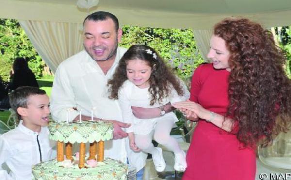 La famille Royale a célébré le 4ème anniversaire de SAR La Princesse Lalla Khadija
