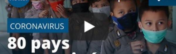 Coronavirus : l'épidémie continue de se propager dans le monde, 80 pays touchés