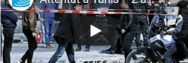"""Attentat à Tunis - """"2 assaillants dont un en fuite"""" : L'ambassade américaine visée, des blessés"""