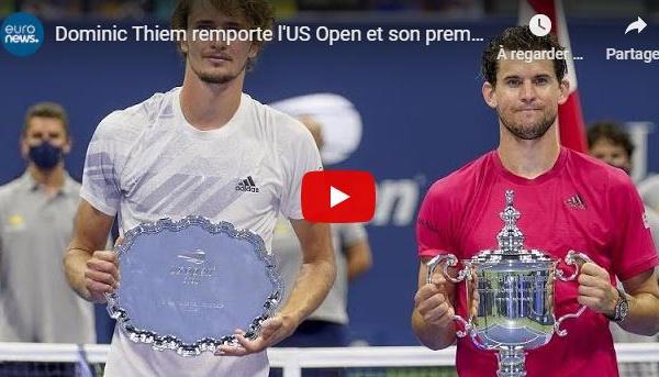 Dominic Thiem remporte l'US Open et son premier titre du Grand Chelem