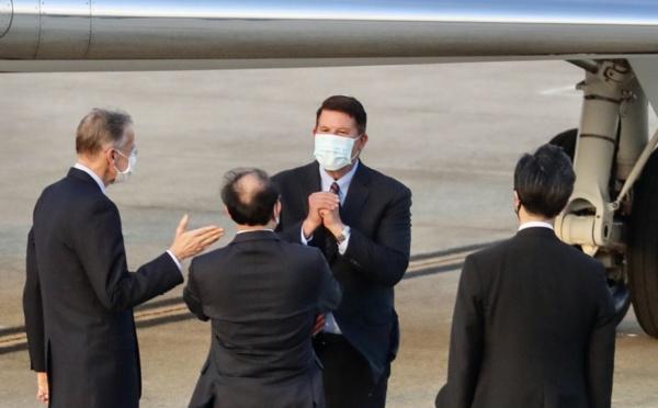 La visite d' un haut dirigeant américain à Taïwan suscite l'ire de Pékin