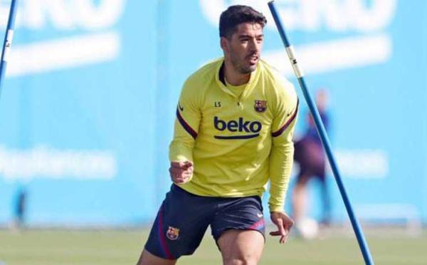 En partance vers l'Atlético Madrid, Luis Suarez quitte l'entraînement du Barça en larmes