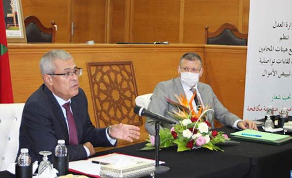 Poursuite par Mohamed Benabdelkader de la campagne contre le blanchiment d'argent et le financement du terrorisme