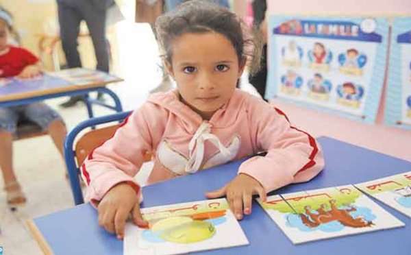 L'INDH donne une nouvelle impulsion à l' enseignement préscolaire à Sefrou