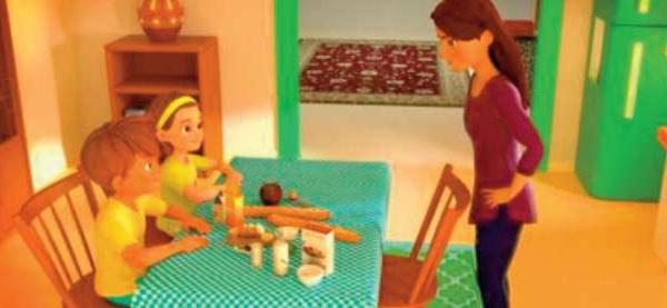 """""""Lina & Adam """" , une nouvelle série animée 3D réalisée au Maroc"""