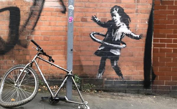 Banksy revendique une nouvelle œuvre murale à Nottingham