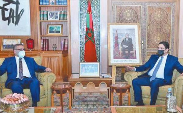 Entretiens maroco-libyens à Rabat