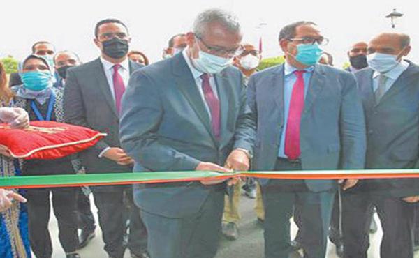 Mohamed Benabdelkader inaugure le Centre du juge résident à El Borouj