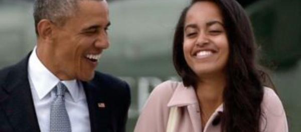 Les drôles de confidences de Barack Obama sur le petit ami de sa fille Malia