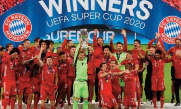 Le Bayern sur le toit de l'Europe