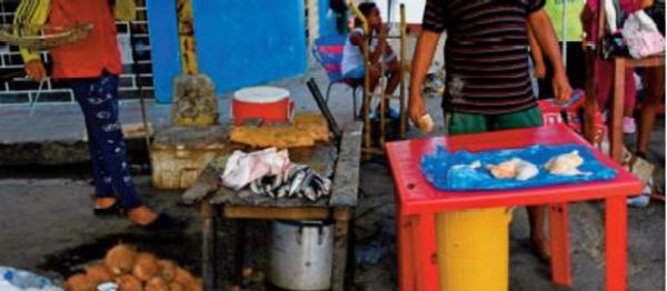 Acheter à manger, l' autre raison qui pousse les Vénézuéliens vers Trinité-et-Tobago