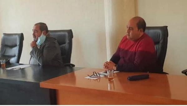 Driss Lachguar préside une séance de travail avec la direction de la FDT