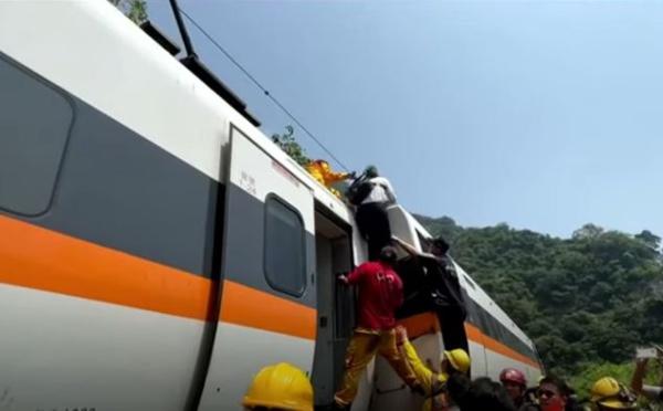 Taïwan : des dizaines de morts dans le déraillement d'un train