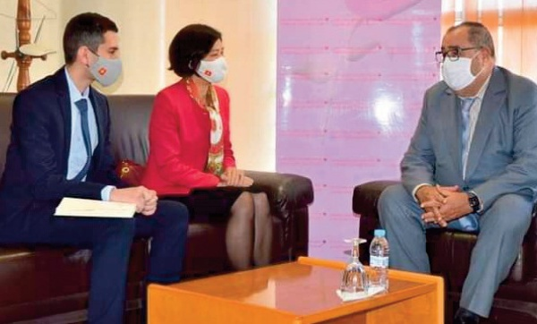Driss Lachguar reçoit l'ambassadrice du Vietnam