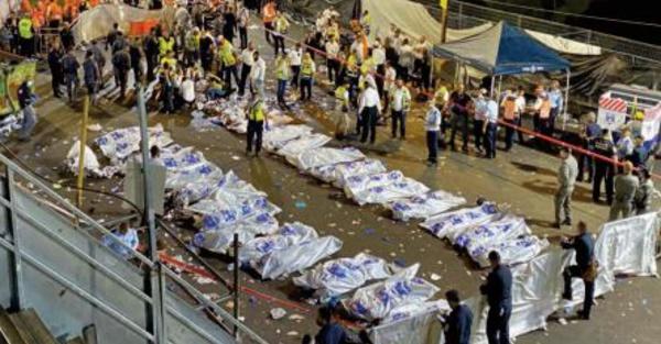 Au moins 44 morts lors d' une bousculade à un pèlerinage au mont Méron