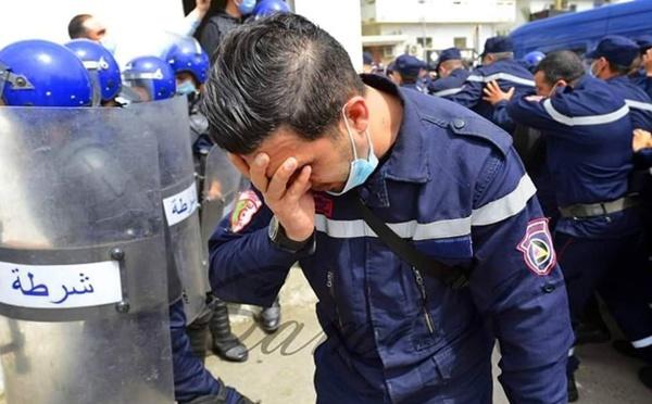 230 pompiers algériens lourdement sanctionnés pour avoir manifesté