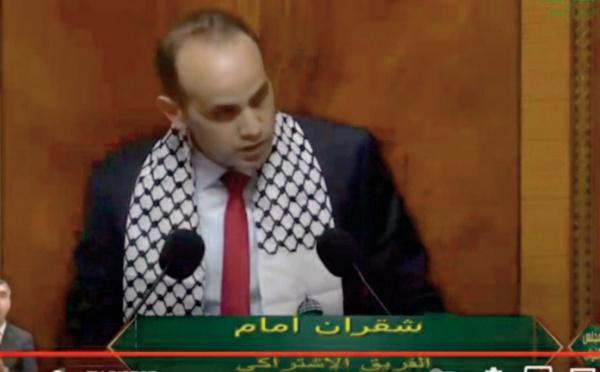 Le Groupe socialiste réitère son soutien irréfragable à la cause palestinienne